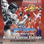 Arnold Classic Europe 28-30 September